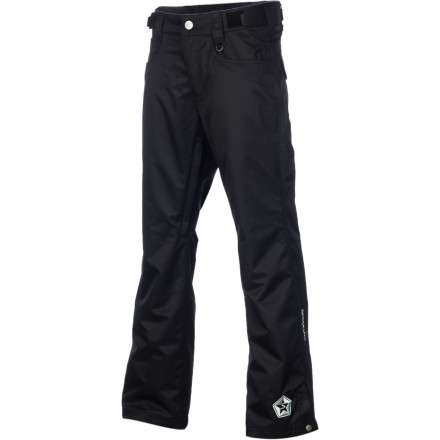 Snowboard You don't have to look like you're wearing a sack to get good snow protection on the mountain. The Sessions Brawl Pant brings street fashion to the mountain with solid water-resistance, boot gaiters, and vents. - $51.98