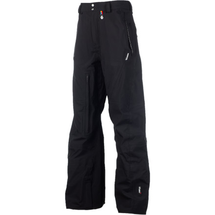 Snowboard If your idea of a good time involves getting up at four in the morning, skinning up a mountain in the dark, and getting face shots before the resorts open, then the Volcom Baldface Guide Gore-Tex Pant was made for you. Featuring waterproof breathable Gore-Tex and built to withstand nature's harshest winters, the Baldface was inspired by the guides of the epic Baldface Lodge in B.C., who spend more time in their outerwear than just about anyone, and who need gear that can meet their exceedingly high standards. If it's good enough for them, chances are it's good enough for you. - $219.97