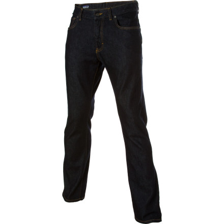 Patagonia gave the organic cotton in the Men's Straight Denim Pant a touch of stretch for even more comfort. Which might be somewhat akin to bringing coals to Newcastle, these jeans already had it going on. - $57.85