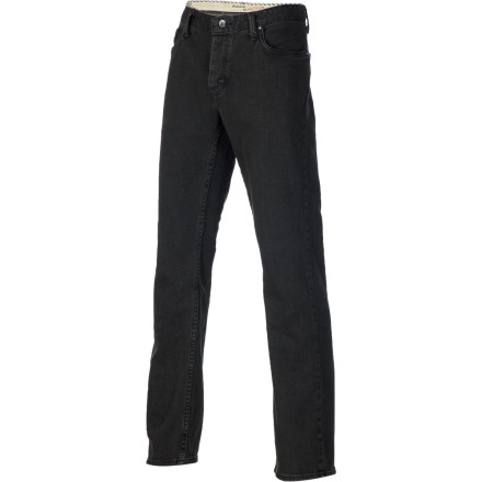 Skateboard Rise above the trends and get a jean you know you're still going to like in six months with the Vans V56 Standard / AV Men's Denim Pant. It has a classic straight fit that's not tight and not too baggy, with a little bit of elastane woven in for flexibility while skating. - $39.56