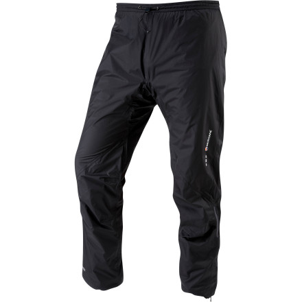 Montane believes you shouldn't have to choose between being wet from the rain or being wet from sweaty, heat-trapping rainpants. That's why it built the Minimus Pant. Take the water-resistant, breathable Minimus on your next alpine adventure and don't worry when you see thunderheads approaching. - $164.95