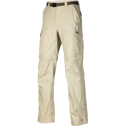 Climbing Take the Columbia Silver Ridge Convertible Pant along for summer backcountry trips, fall day hikes, and year-round expeditions. - $47.96