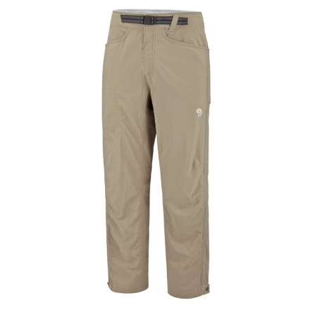 Climbing The Mountain Hardwear Men's Mesa Pants protect your legs as you climb through desert canyons. The durable Mesa Pants' articulated knees and full-length inseam gusset keep you comfortable as you bend down to take a close-up shot of the blooming cactus. - $42.22