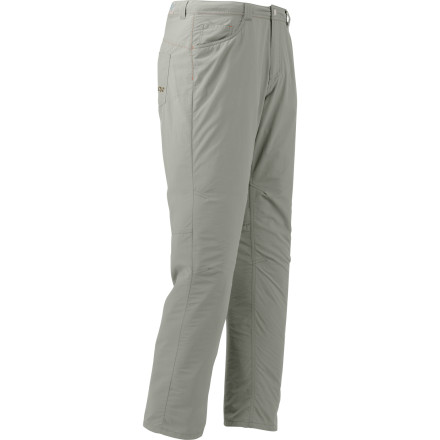 Climbing Thru-hiking can be uncomfortable enough, so make sure that your legs are outfitted with a quality, comfortable pair of bottoms like the Outdoor Research Treadway Pants before you tackle the first mile. - $68.95