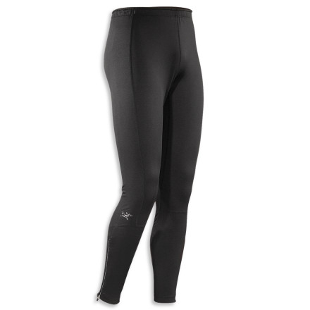 Get your stride right in the Arc'teryx Stride Tight. Winter cardio monsters need look no further for warmth and functionality than these moisture-managing bottoms. Flatlocked seams lie flat to help prevent chafing, while a gusseted crotch and stretchy design allow a full and natural range of motion. - $54.42