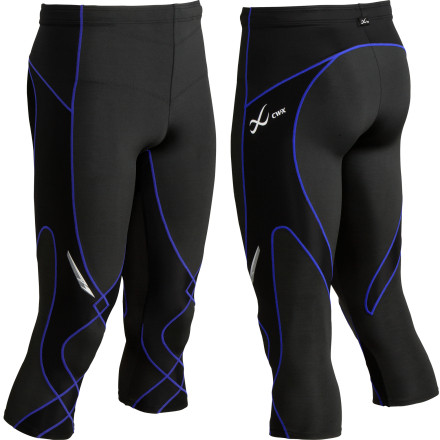 Fitness When the worst of winter is over and spring has sprung, pull on the CW-X Mens Stabilyx  3/4 Length Tights and take your training back outside. CW-Xs Conditioning Web stabilizes the knee joint to help prevent injuries as you work toward your next marathon. These CW-X tights also lend support via compression to your hips, lower core, and lower back so you can power through those last six miles with gusto. - $89.95