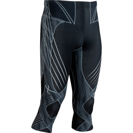 Fitness Whether cycling, running, or skiing, you aim to harness the maximum possible power from your legs. The ergonomic CW-X Revolution 3/4 Length Tight uses a highly engineered, stretchy web of compression to ensure muscle support and quick recovery after reaching your physical breaking point. - $179.95