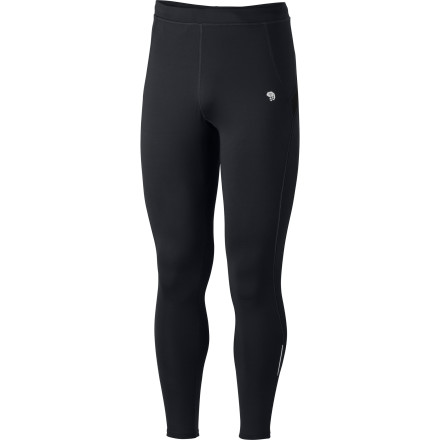 Fitness The cold can't stop your evening trail runs when you're wearing the Men's Super Power Tight. Mountain Hardwear made this tight specifically for runners and endurance athletes who need warmth, flexibility, and chafe-free performance clothing. Everything about the Super Power tight points to comfort, except maybe the fact that it'll help you run until your legs feel like exploding. - $79.95