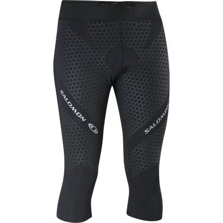 Fitness For trail runners there's little better than the support and muscle stability offered by the Salomon Men's EXO IV 3/4-Tight. This next-to-skin trail-running tight helps you feel less fatigued on long runs, recover faster, and hit the trail harder the next day. Salomon added this secret weapon of a performance tight to their S-Lab line, so you know it was tested and refined by some of the best endurance runners in the world. - $68.72