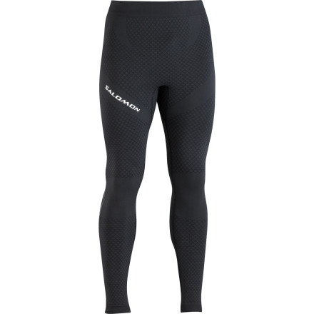 Fitness Give your muscles the support needed for long, high-endurance trail running or fast packing when you pull on the Salomon Men's Exo Motion Tight. Seamless construction and soft fabric make for a smooth performance tight that moves easily during hard workouts outdoors. This tight not only focuses on supporting your muscles, but it also encourages the movement of moisture away from your skin so you stay cool and comfortable. - $51.97