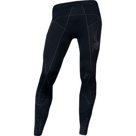 Don't be alarmed if you start to resemble a certain super hero when you suit up in the Spyder Slalom X-Static Pant. The medium compression-fit baselayer fits like a second skin, and the antimicrobial X-Static treatment keeps you from smelling like a villain. - $59.96