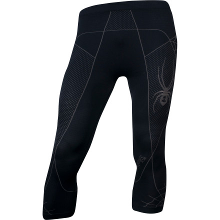 Scuba The Spyder Scuba X-Static 3/4 Pant is an ideal first layer to reach for when you're suiting up for a long day at the resort. The scuba pant is anatomically designed to compress core muscle groups for maximum blood flow and performance while the X-Static antimicrobial treatment keeps you smelling fresh. - $56.21