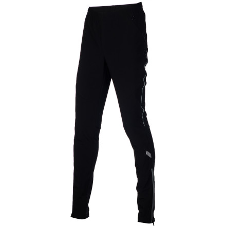 Before pushing yourself at the Nordic track, suit up in the Swix Men's Bergan Tight for the unrestricted movement, breathability, and lightweight weather protection you need. The internal key pocket safely stows valuables and ankle zips make it easy to get in and out of the tights. - $119.95