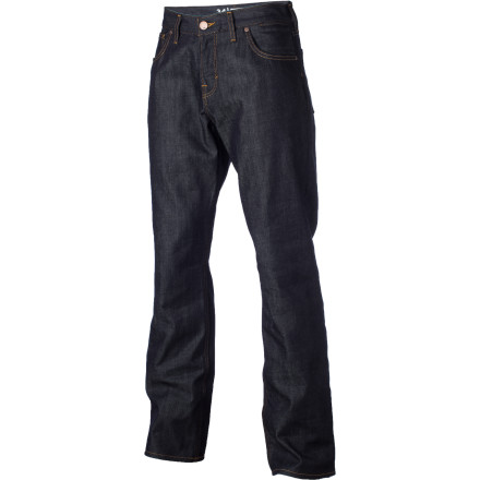 Surf Double up the comfort, durability, and your style with the Quiksilver Double Up Denim pant. - $55.00