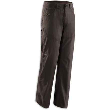 Rugged as the wild West, the Arc'teryx Bastion Pants bring a blue-collar work ethic to your day outside. - $98.95