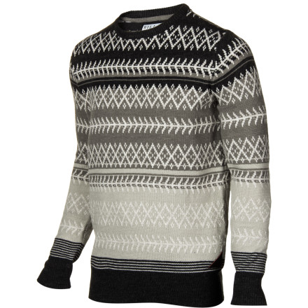 Surf The Billabong Men's Flick Sweater mesmerizes ladies with its intricate knit details so you're able to ask them out with ease. - $52.09