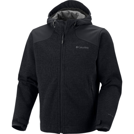 The Grade Max Hooded Jacket one-ups one of Columbia's most versatile jackets by adding - you guessed it - a hood. Worn as a mid-layer or an outer layer, the Grade Max is super-warm, windproof, and ultra-breathable. If the temperature really takes a dive you can zip the Grade Max into one of Columbia's premium shells to make yourself a mega-uber parka. - $159.95