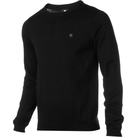 Keep it simple and classy with the DC Sabotage 3 Men's Sweater. It's comfy and the ladies dig itwhat more do you need to know' - $36.00