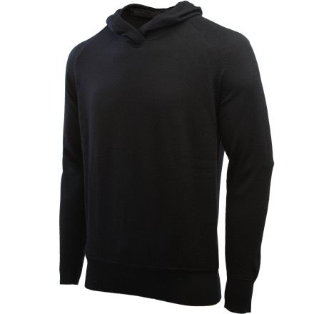 Icebreaker merged the luxurious comfort of soft merino wool with the casual styling of your favorite everyday hoody in order to create the Men's Aries Hooded Sweater. Itch-free merino wool breathes, insulates, and naturally resists odor, making this hoody one that you'll hang onto for years to come. - $109.97