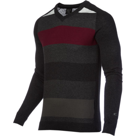 See that frost on the window' It means that it's time to pull on the toasty-warm Oakley Men's Configuration Sweater. - $60.00