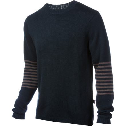 Toss the Patagonia Lambswool Crew Sweater into your pack in case you get invited into a household for a home-cooked meal while on expedition in a foreign land. The language and food may be different, but when you walk into their home while wearing this warm lambs wool sweater, the hospitality is the same as anywhere. The wool fabric features a touch of nylon so that the Crew Sweater doesnt disintegrate as you travel the lands in search of more hearty meals of goat, yak, or llama. - $59.40