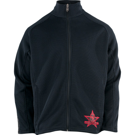Ski Wear the Spyder Fallen Patriot Full-Zip Sweater skiing and don't bother changing out of this sleek zip-up when it's time to grab dinner in the lodge's best restaurant. Thanks to Spyder's Core sweater knit, you get a sleek, casual look that is perfect for red wine and steak dinners even though it's geared for days on the mountain. You can not only feel good about how you look and how the sweater feels, but also that a portion of the sale of this Fallen Patriot garment goes to support The Children of Fallen Patriots Foundation. - $98.42