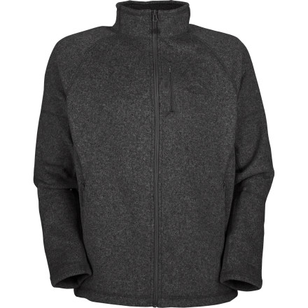 Few people appreciate the warmth, breathability, and quick-drying nature of fleece more than globe-trotting adventurers. The North Face Gordon Lyons Full-Zip Sweater offers climate-spanning, season-bridging versatility so matter where you go. In addition to its lofty heavyweight fleece, this sweater is packed with travel-friendly features like a passport-sized chest pocket for total security and gusseted underarms for increased mobility. Flat-lock stitching and a lined collar offer additional comfort on long train rides, too. - $53.97