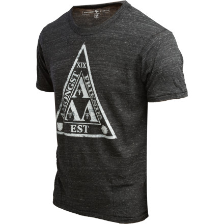 Toss on the Amongst Friends Men's Tri Lam ECO T-Shirt. Nice work. OK, now pledge to a whacky little fraternity full of nerds. No one is going to judge you. And particularly because this smooth cotton tee let's them know that you mean business... or something along those lines. - $12.78