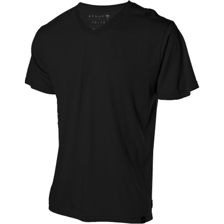The Taylor V-Neck T-Shirt slides nicely over your pointy nose. It's almost like one of the designers knows you. Weird. - $31.95