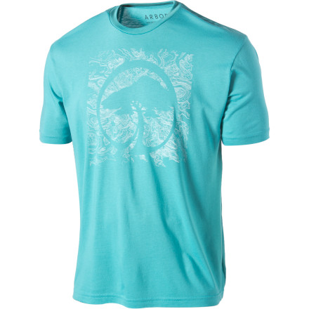 If the Arbor Topo T-Shirt was any more earthy it would have 'Thank You, Jerry' printed on the front and Arbor would have named it the 'Moonbeam.' - $17.97