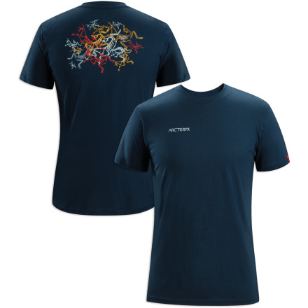 Climbing Show your good taste in outdoor gear during a post-climb beer session by sporting the Arc'teryx Multi Bird T-Shirt. - $38.95