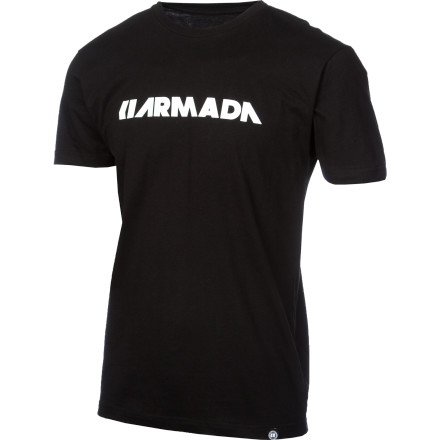 Ski Let the Armada Men's Icon T-Shirt help you remind the world that no matter how hot it might get during the summer, winter is inevitable. And when you need a hit of cold-weather reassurance, just pull on this smooth tee and fire up a shred-flick. You'll be right as rain in no time. - $14.27