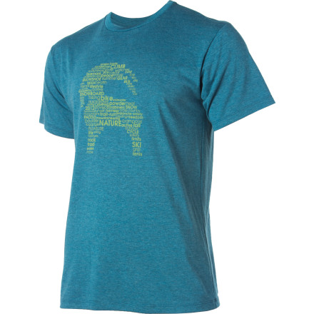 The more time you spend exploring this mysterious blue orb, the better it feels to slip on the short-sleeve Backcountry.com Home Base T-Shirt and just hang out with your buddies in town. - $20.95