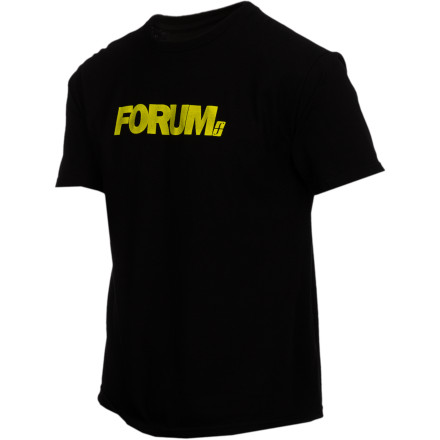 The main reason you taught your family of adopted chimps to play instruments was so you could stand next to the stage while wearing your short-sleeve Forum Werdmark T-Shirt and raking in the dough. - $11.97