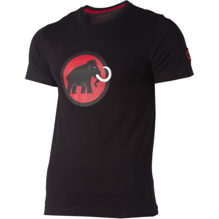 The 2011 Mammut Logo T-Shirt rocks the same classic woolly mammoth logo that's recognized worldwide as a sign of excellence in mountain sports, but the manufacturing process has been revamped to include 100% organic cotton to help prevent another collapse of charismatic megafauna. - $34.95