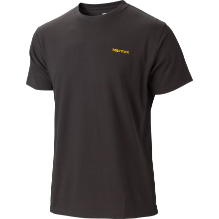 Marmot made the Men's Viva Tee with pure certified organic cotton to ensure that not only are you pretty much the Earth's one true hero, but you're comfortable as all get-out. - $19.47
