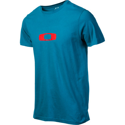 How magical is the Oakley Square Me T-Shirt' Let's just say that it can fit a square peg into a round hole. Now that's magic. - $20.00