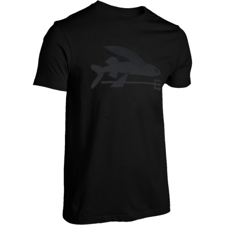 Fishing Flying fish break norms and don't let anything get in their way just like you. You'd love to get a tattoo of those crazy little animals, but you're terrified of needles. The Patagonia Flying Fish Short-Sleeve T-Shirt shows off that adventurous spirit in a needle-free way. - $35.00