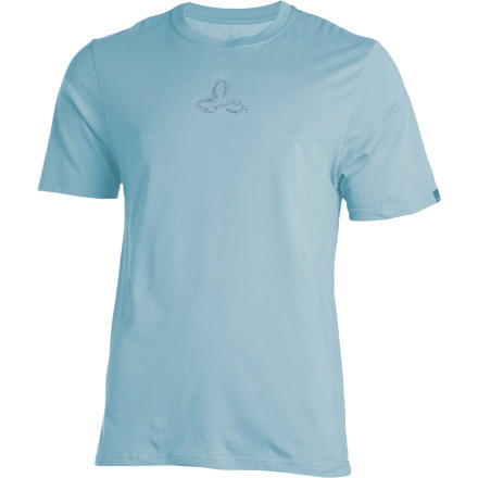 Climbing Slip on your prAna Roots Organic Short-Sleeve T-Shirt and pound another cup of trade-friendly coffee before you race to the climbing gym for some a.m. training. - $17.48