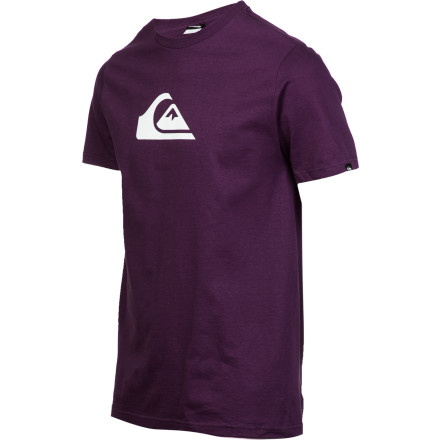 Surf The Quiksilver Mountain Wave T-Shirt is what legends are made of. Well, actually, legends are made of carbon-based matter, and this shirt is made of soft, combed-jersey cotton, but you know what we mean. Right' - $14.00