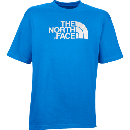 When the throngs and masses see you wearing The North Face Men's Half Dome T-Shirt, they'll instantaneously know that you're someone who'd rather be out exploring the town's surrounding hills. And when those same people don't see you in this comfortable cotton shirt, that will be because both you and the Half Dome are out living up to your collective reputation. - $17.47