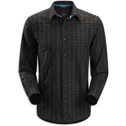 The Arc'teryx Ridgeline Long-Sleeve Button-Down Shirt will help you keep your cool while you're sitting in the boss' office trying to convince him that you deserve a month off to play in Alaska. And this comfortable, adventure-ready shirt is going feel a lot better when you're wearing it on your flight to Anchorage. - $66.71