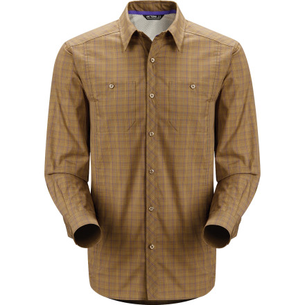 Climbing Whether you're traveling, climbing, or lounging on the deck, the Arc'teryx Borderline Button-Down Shirt keeps you comfortable in woodland style. The shirt's lightweight Verdi fabric offers durability, breathability, and a comfortable stretch so you can weather warm weather with ease. - $51.32