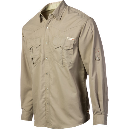 Camp and Hike Opt for the lightweight, quick-drying Dakota Grizzly Bowen Shirt next time you head out for a day hike in the foothills. The Bowen's mesh-back yoke keeps you cool whether you're hiking, or catching a post-hike beer in town. - $34.48
