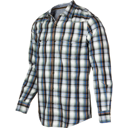 Camp and Hike Whether you're camping in the Appalachians with your buddies or camping on your couch with a six pack, the Dakota Grizzly Harper Long-Sleeve Shirt gives you classic, outdoor style. - $37.92