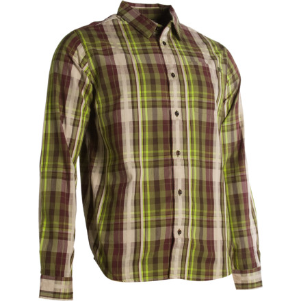 Climbing Prana gives you the ammo to prove to humanity that you are the climbing cowboy. This 100% organic cotton button-down shirt is the real deal. - $42.22