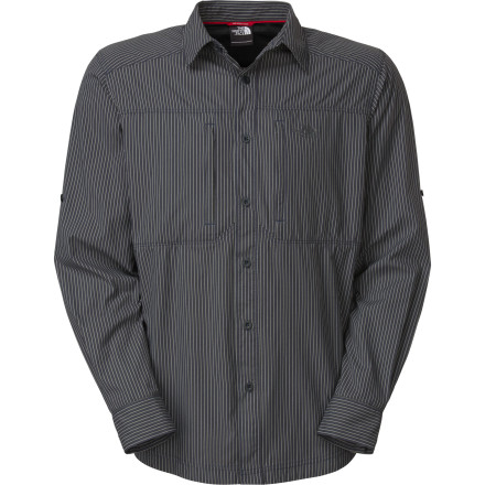 The North Face Men's Boulder Gorge Shirt offers comfort and class when you need a long-sleeve button-up that can handle both your wild and classy sides. Because you're the kind of guy who loves a shirt that will help you stay covered and comfortable on a weekend backpack trip and also look good after two days of airports, planes, and trains. - $45.47