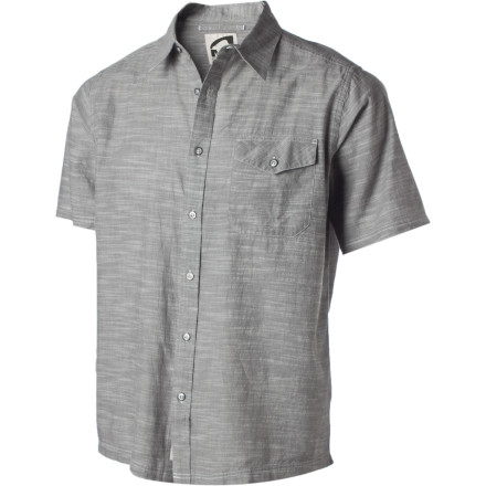 You have your work boots, work pants, and work shirts that are supposed to get grimy; your Mountain Khakis Men's Oxbow Shirt is the one you should save for your day off. Soft cotton flannel and short sleeves mean it'll be just right for a relaxed day in the Wyoming sun. - $69.95