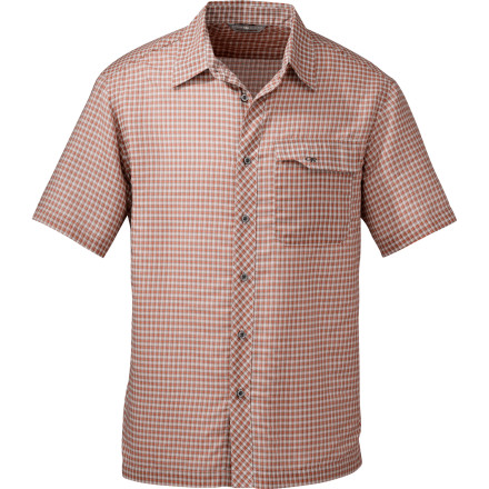Ditch the tablet and mobile devices and get out on trail this weekend while wearing the Outdoor Research Dune Shirt. Natural cotton absorbs moisture by wicking it away the skin, and quick-dry polyester fibers transport the moisture through to the surface of the garment where it can evaporate quickly. - $32.48