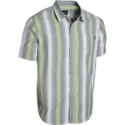 The prAna Ombre Woven Shirt wants you to remember that, when on the road, a modest tuft of exposed chest hair can go a long way towards making your dreams come true. - $28.98
